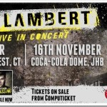 Cue the screaming teens: Adam Lambert Live in South Africa