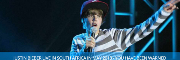 Justin Bieber Live in South Africa. Baby, Baby, Ohhh!