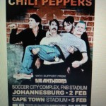 Red Hot Chili Peppers to Assemble in South Africa, February 2013