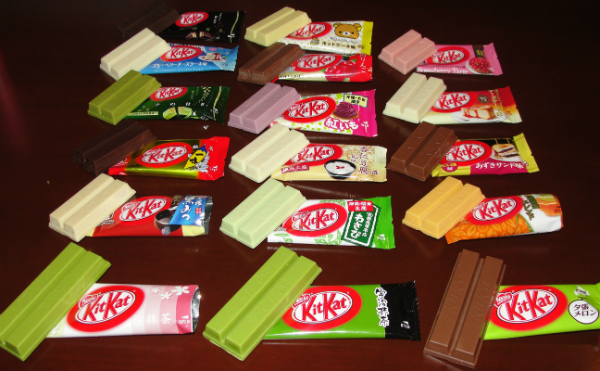 Assorted Japanese Kit-Kats